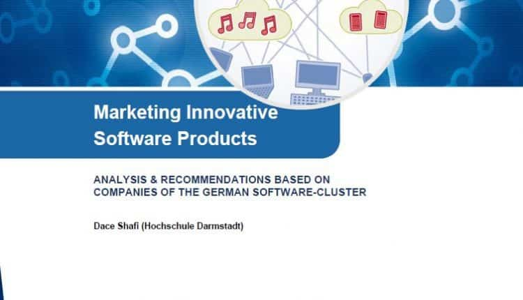 Studie Marketing Innovative Software Products