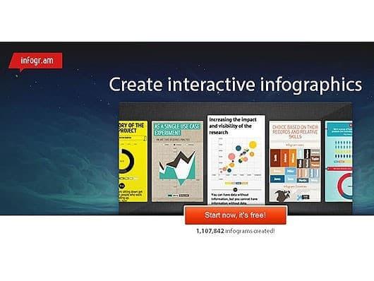 Infografiktool-infogram-Screenshot