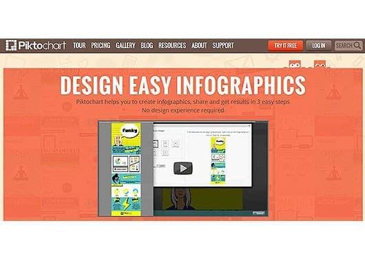 Infografiktool-piktochart-Screenshot