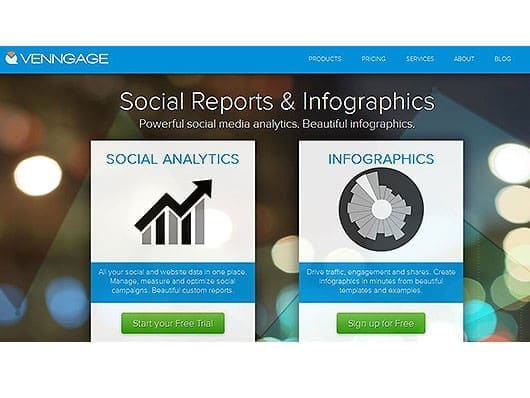 Infografiktool-venngage-Screenshot