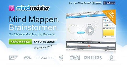Mindmeister-Screenshot