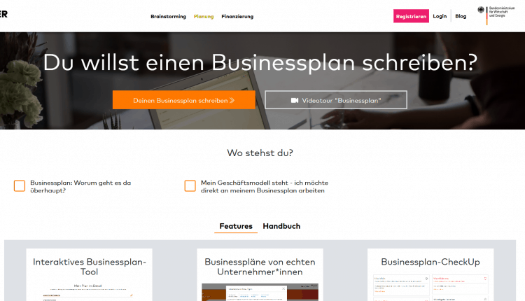 Businessplan_Gruenderplattform