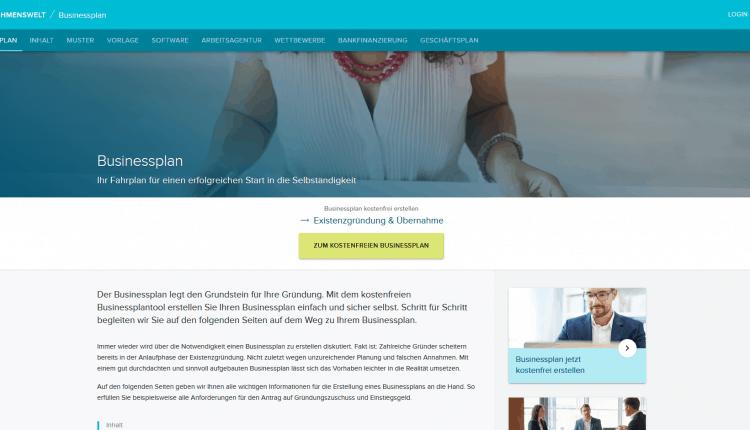 Businessplan_Unternehmenswelt