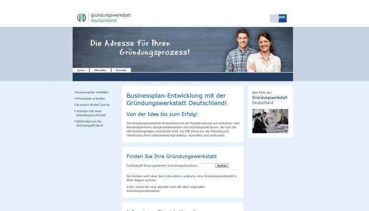 Gründungswerkstatt_Deutschland-Businessplan-IHK
