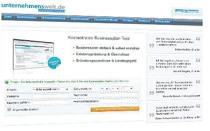 businessplan-tool-unternehmenswelt-de