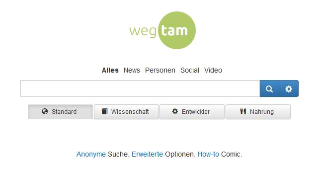 wegtam-screenshot-suche