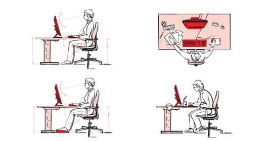 wie ergonomisch muss der arbeitsplatz sein pflichten des arbeitgebers gr nderk che. Black Bedroom Furniture Sets. Home Design Ideas