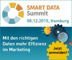 Logo des Smart Data Summit in hamburg