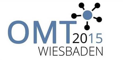 Das Logo in Farbe vom Online Marketing Tag Wiesbaden 2015
