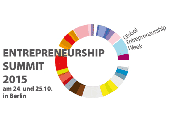 Logo des Events Entrepreneurship Summit 2015 in Berlin