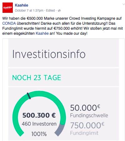 500.000 Marke überschritten