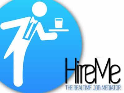 HireMe-App Wie ein Startup aus Saarbruecken Kurzzeitjobs vermittelt