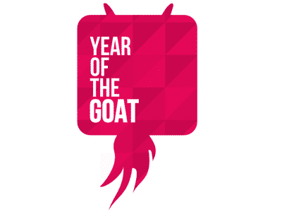 Logo vom Year of the Goat 2015 in Frankfurt