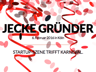 Bild für Networking Event Jecke Gründer in Köln