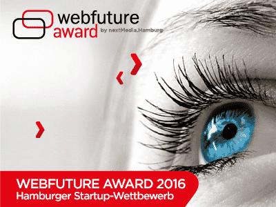Bild zum Webfuture Award Wettbewerb 2016 in Hamburg