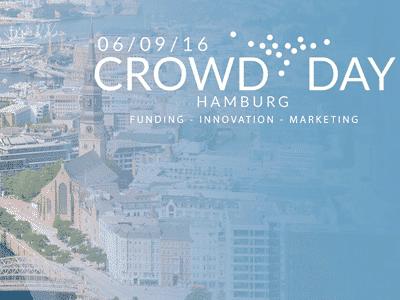 Logo der Crowddunding Konferenz in Hamburg 2016