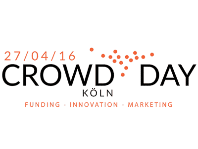Logo der Crowdfunding Konferenz Crowdday in Köln