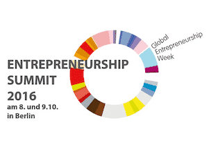 logo des entrepreneurship summit 2016 in berlin