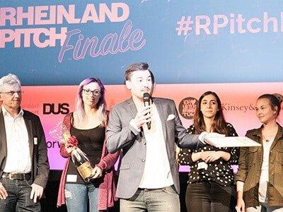 Rheinland-Pitch Finale31_Gewinner Team Volunteer World