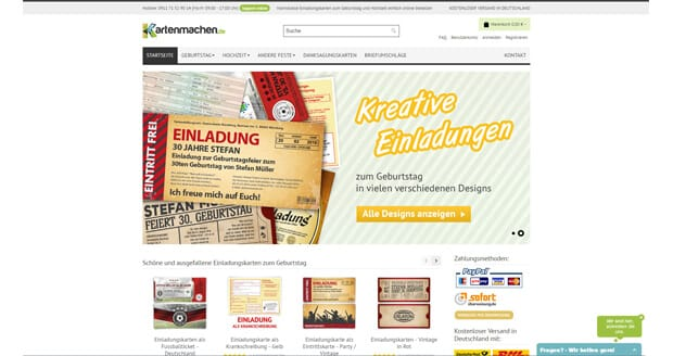 kartenmachen-website