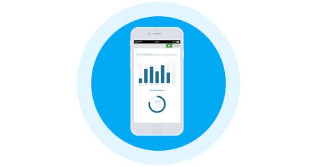Durch die für mobile Geräte optimierte Oberfläche kannst Du Papierkram auch unterwegs nutzen.