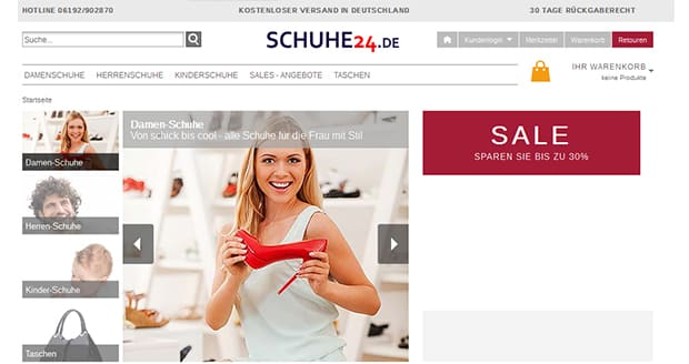 schuhe24-screenshot