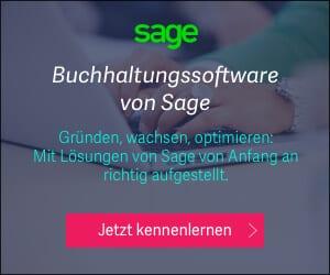 Buchhaltungssoftware von Sage