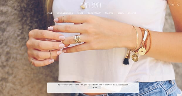 santi-santi-startup-website