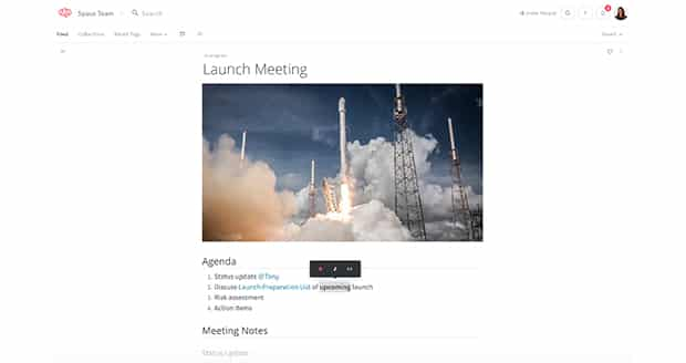 nuclino-startup-screenshot