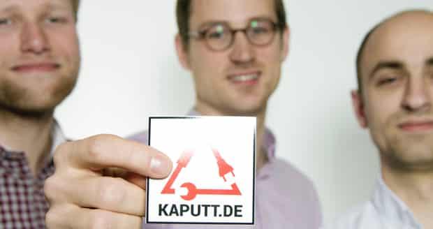kaputt-startup-gruenderteam