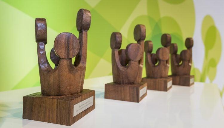 Veranstaltung zur Verleihung des Start Green Award im Bundesumweltministerium.