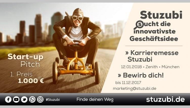 Startup-Pitch – Karrieremesse Stuzubi_Bild