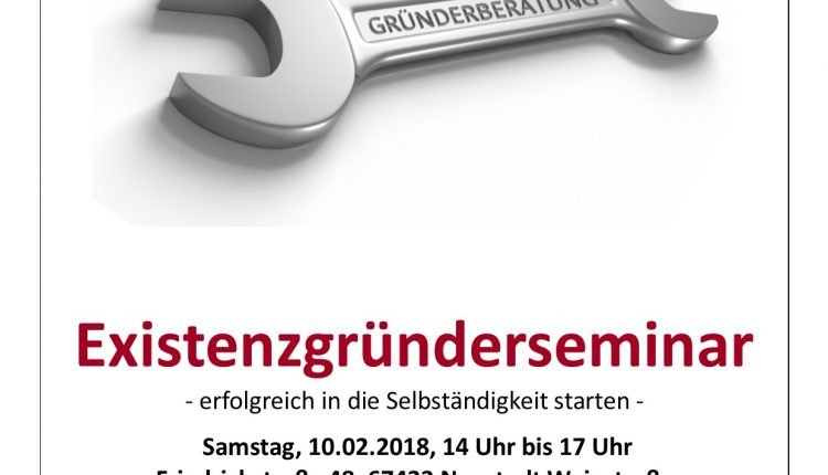 Plakat Seminar Neustadt 10.02.2018