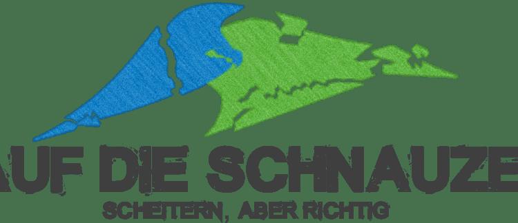 Auf die Schnauze Logo