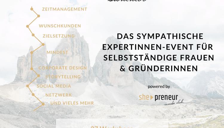 Copy of She-Preneur Summit 2018 – Kooperationspartner