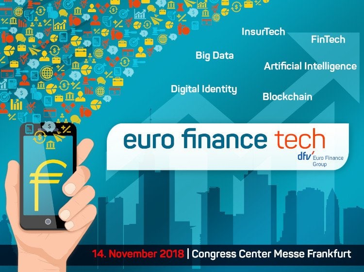 Logo der Euro Finance Pech Konferenz in Frankfurt am Main
