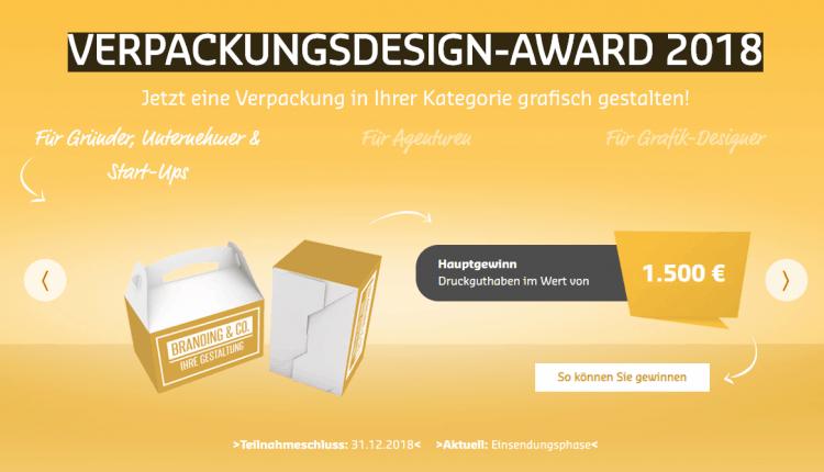 Verpackungsdesign Award 2018