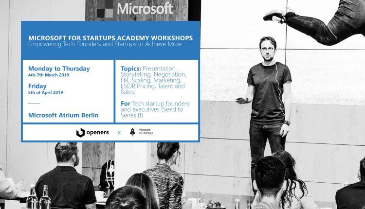 Microsoft Startup Academy Banner Full_Gründerküche 750×430