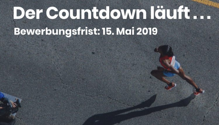 leAD Sports Accelerator – Banner Countdown Bewerbung