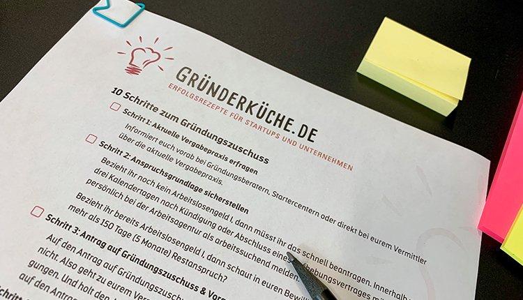 gruenderkueche-checkliste-gruendungszuschuss-ansicht