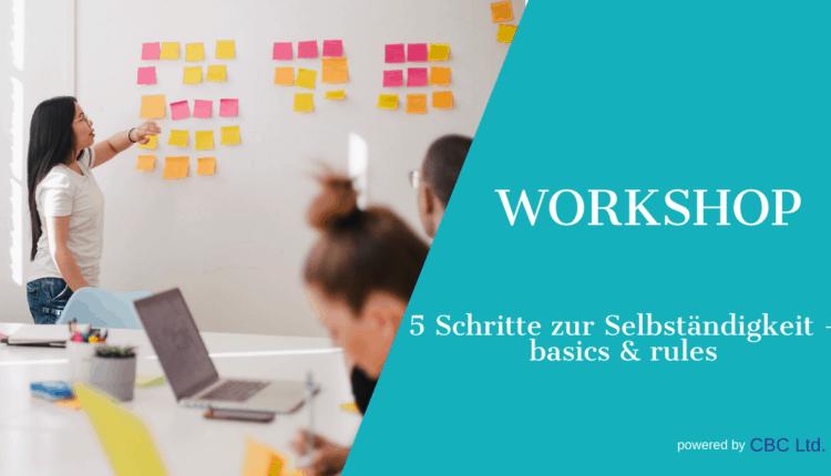 Banner Meetup Workshop Basics & rules