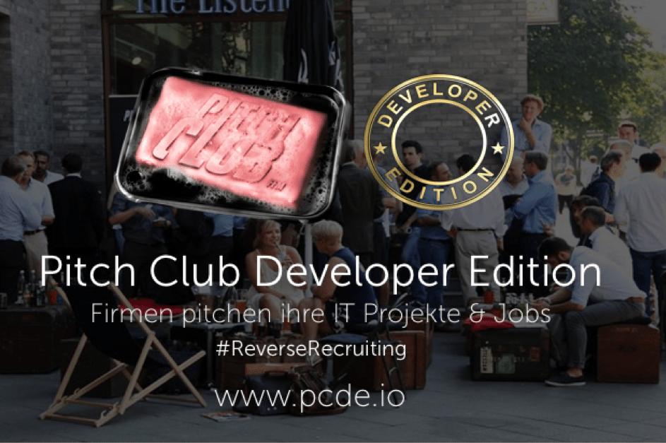 Pitch Club Developer Edition #45 Frankfurt am Main 2020
