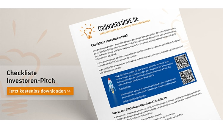 gruenderkueche-checkliste-investoren-pitch