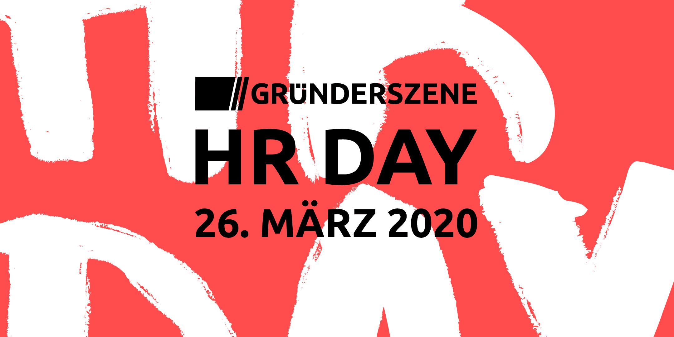 Gründerszene HR Day Berlin 2020