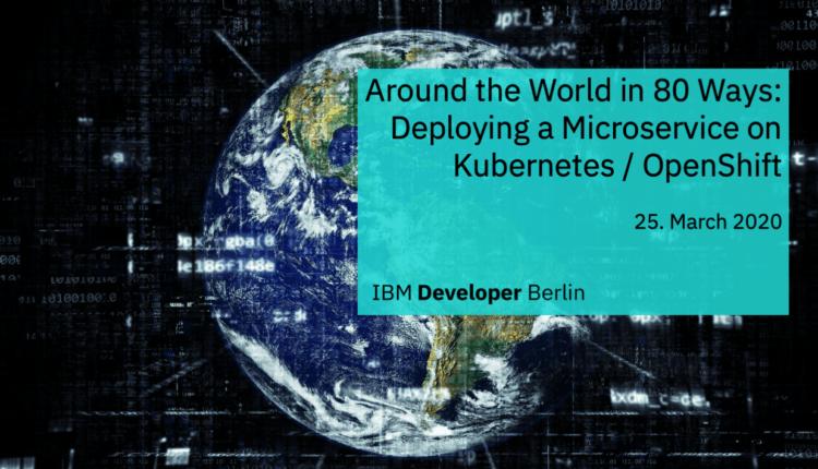 IBM Developers Berlin March Meetup
