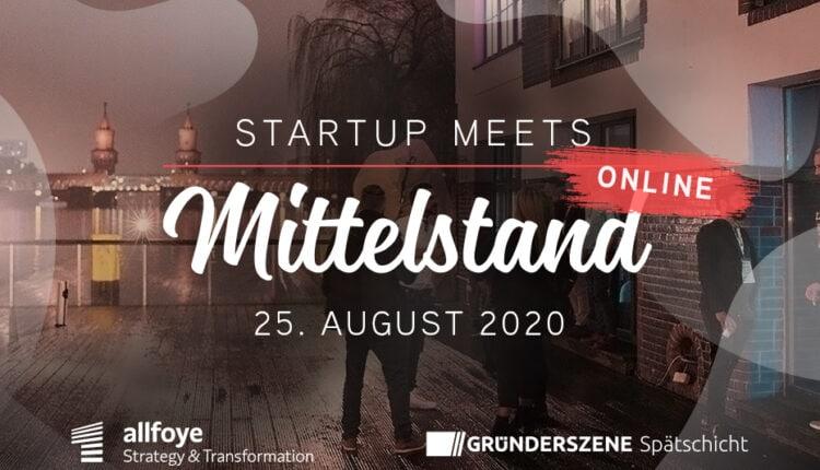 StartupmeetsMittelstand_online