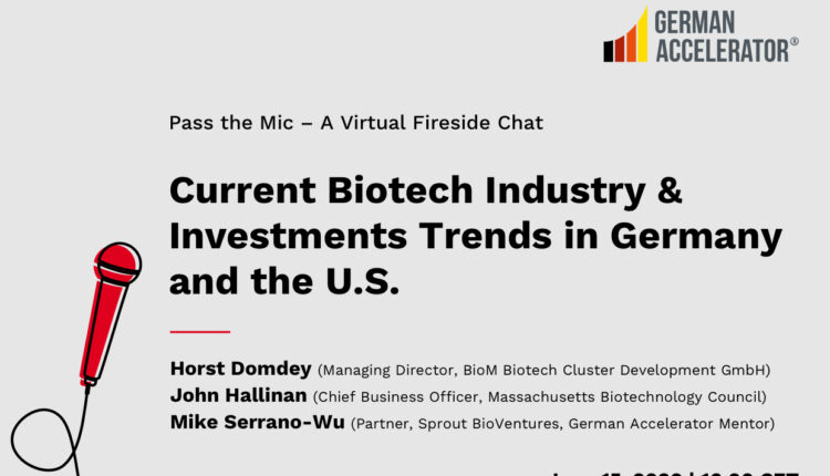2020_06_15_Webinar_Current and Future Biotech Industry & Investment Trends in the U.S. and Germany_620x413px