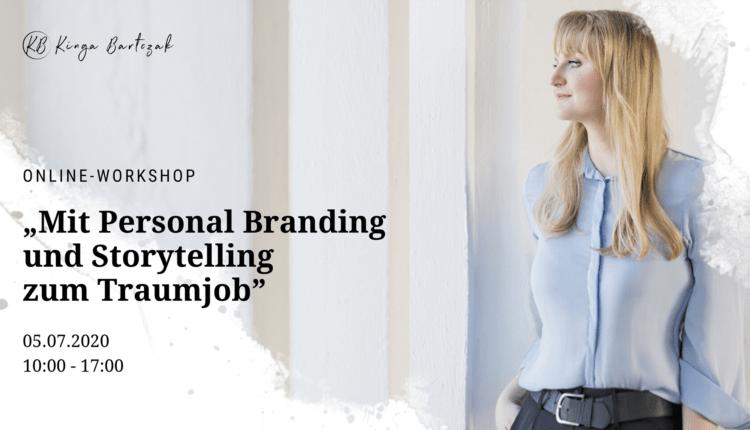 Mit Personal Branding und Storytelling zum Traumjob