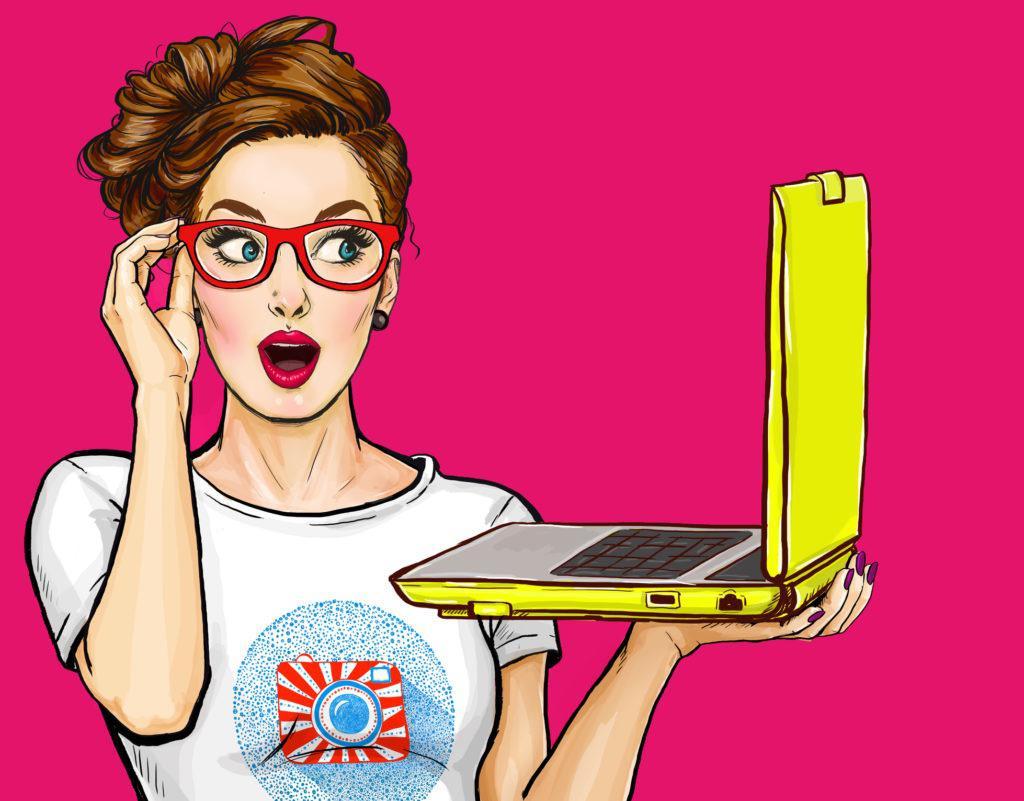 Popart-Frau-mit-Laptop-1024×801