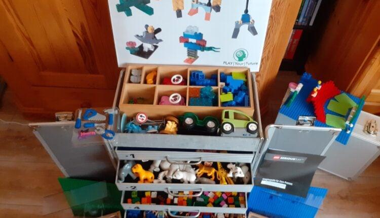 Lego Koffer quer